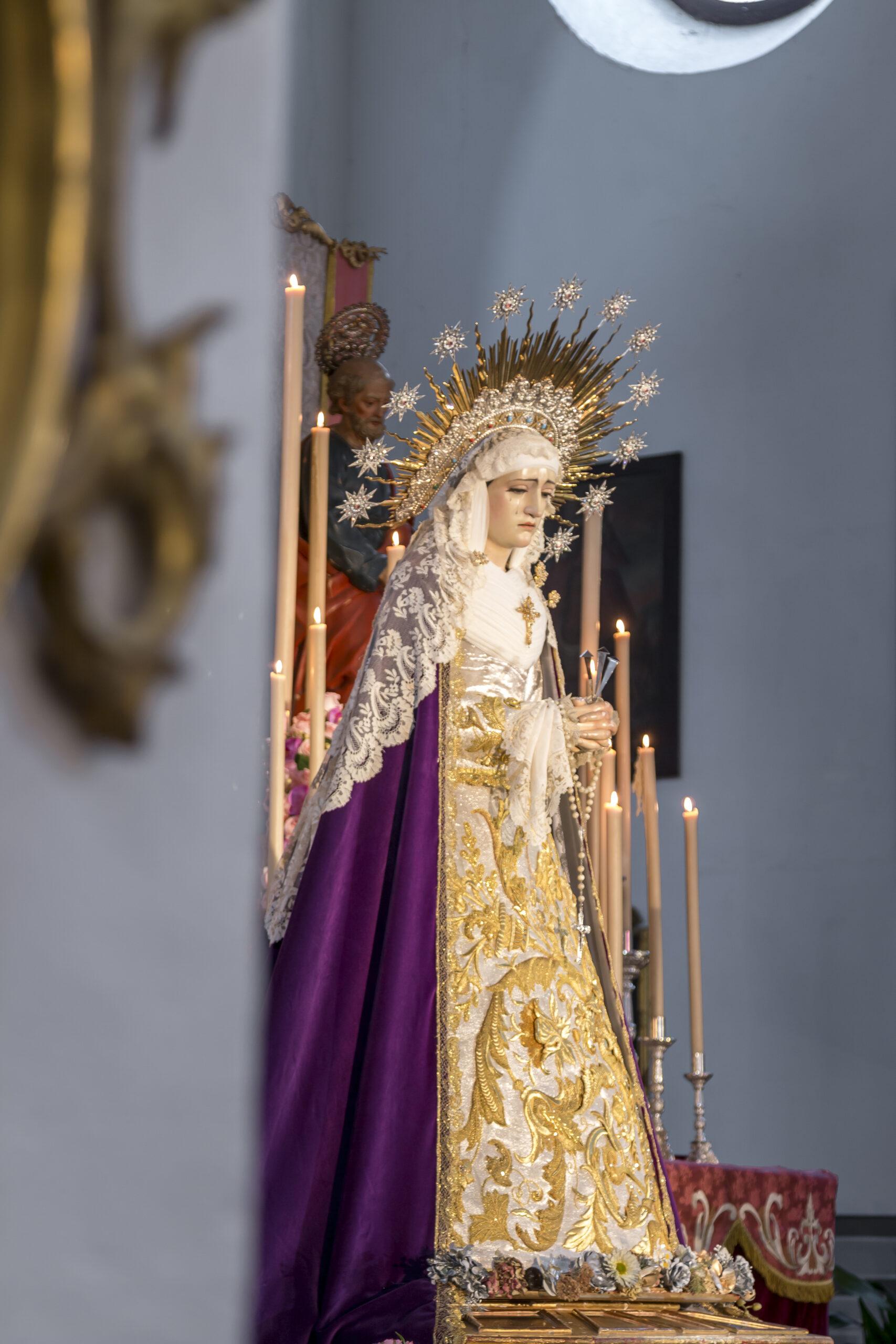 """Charla formativa """"Pervivencia de esencias en la Semana Santa de los años 60: Nuestra Señora de los Dolores"""""""